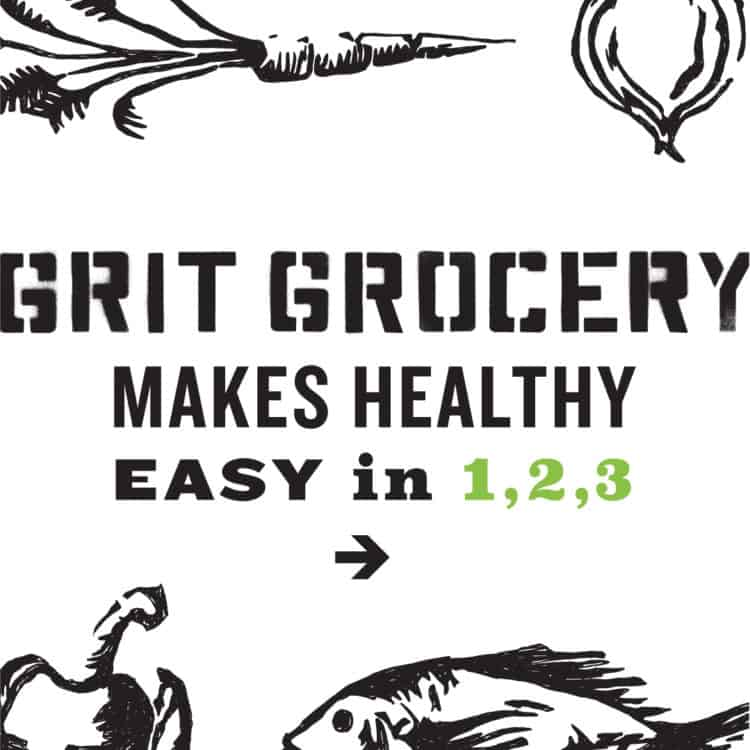 Instagram Grit Makes Healthy Campaign Image for Grit Grocery | Designed by Field of Study: A branding and graphic design consultancy | Houston TX | Jennifer Blanco & John Earles