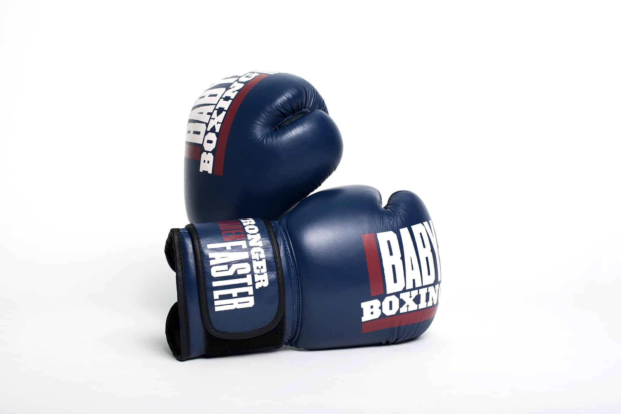 Custom boxing gloves for Baby Bull Boxing | Designed by Field of Study: A branding and graphic design consultancy | Houston TX | Jennifer Blanco & John Earles