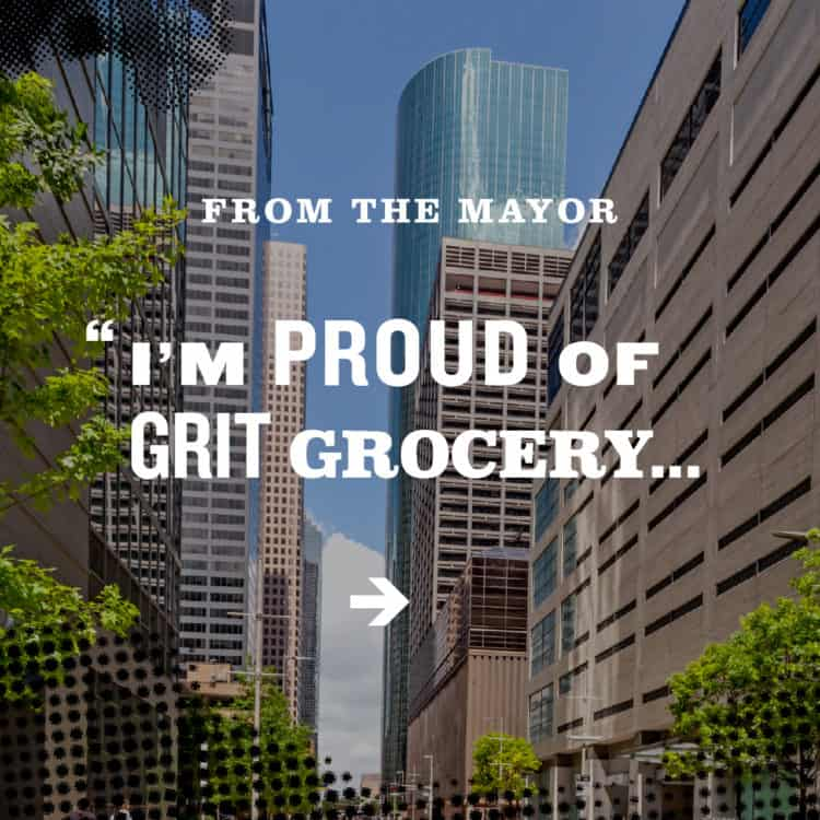 Instagram campaign image for Grit Grocery | Designed by Field of Study: A branding and graphic design consultancy | Houston TX | Jennifer Blanco & John Earles