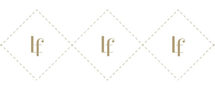 Icon pattern for Lettrefina Linens & Monogrammes | Designed by Field of Study: A branding and graphic design consultancy | Houston TX | Jennifer Blanco & John Earles