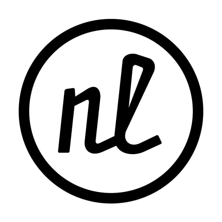 Logo seal for Nathan Lindstrom Photography | Designed by Field of Study: A branding and graphic design consultancy | Houston TX | Jennifer Blanco & John Earles
